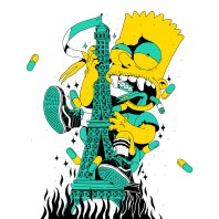 bart monstre tour effeil
