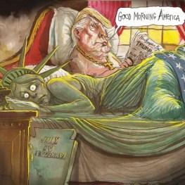 trump-statue-liberte