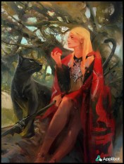 artwork concept - chevalier femme