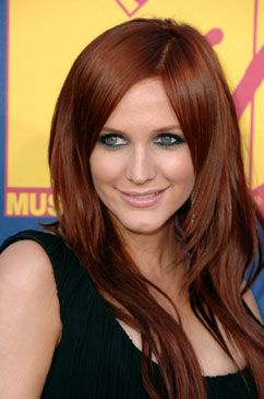 red hair extensions are the latest trend