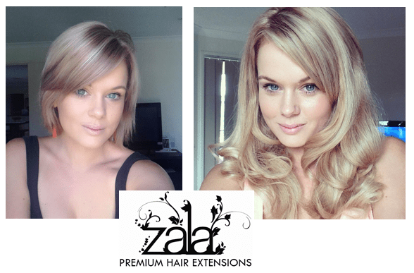 Hair extensions for really short hair the best hair 2017 very short to long hair extensions before and after sach vogue pmusecretfo Image collections