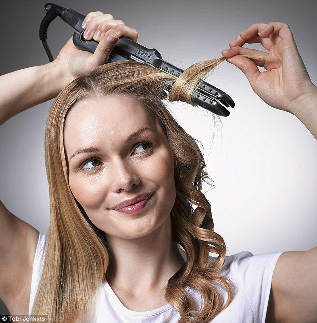 How To Curl Your Hair With A Straightener ZALA Clip In