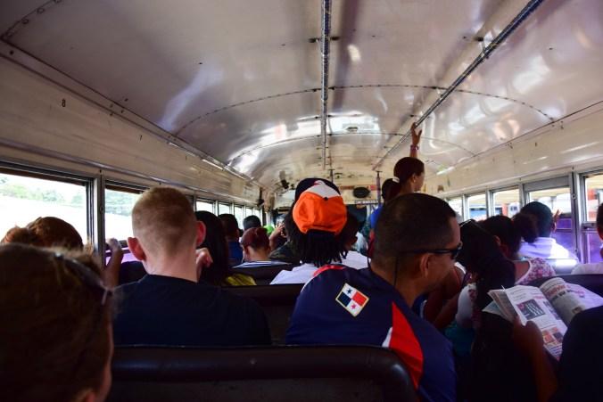 panama autobusy