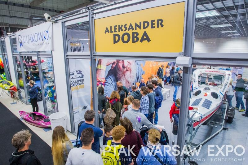 Aleksander Doba world travel show 2017