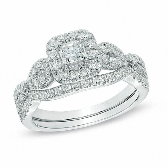 Infinity Ring Wedding Zales Diamond