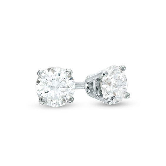 d35f38a4c Consider these classic yet beautiful Diamond Solitaire Stud Earrings (1/4  CT. T.W.) in 10K White Gold for just $99.98, originally $249.99. Nice!