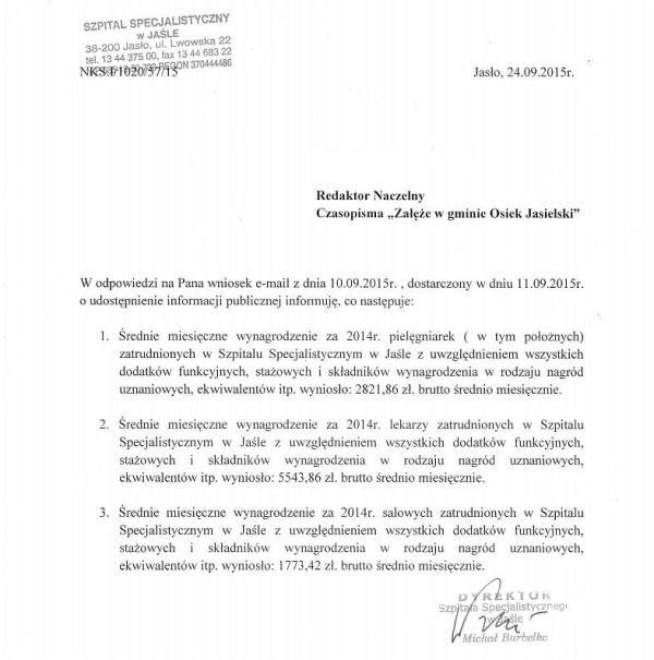Szpital_Informacja_Publiczna_Zaleze
