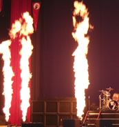 Indoor Flames - Concerts