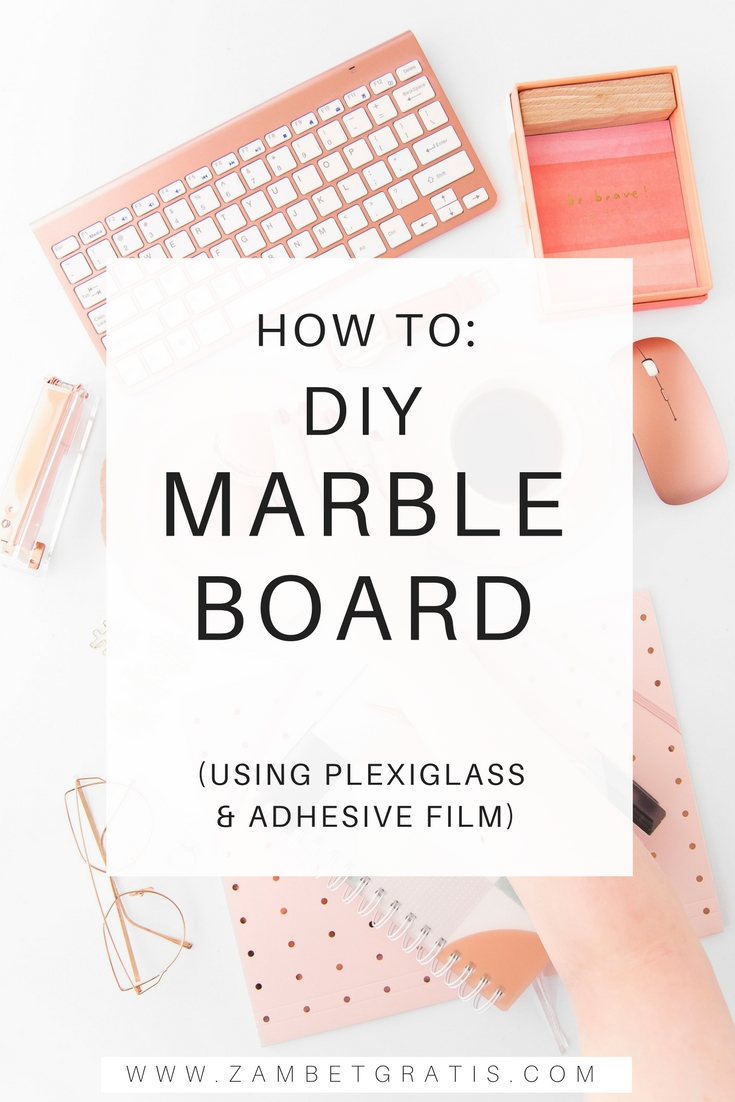 How to DIY Marble Board