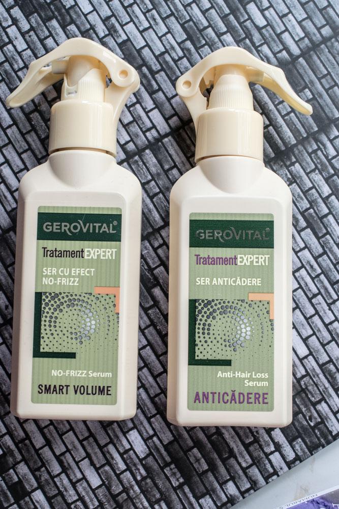 Îngrijirea părului cu Gerovital Tratament Expert #2