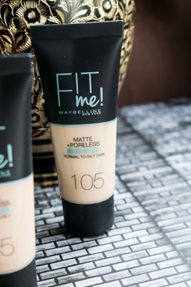 Review Maybelline Fit Me Matte & Poreless