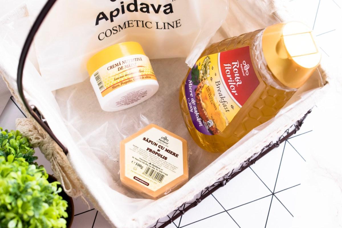 Îngrijire naturală cu Apidava Cosmetic Line