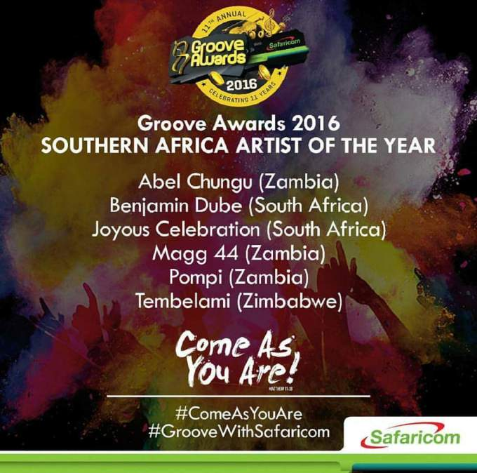 Groove Awards Nominee