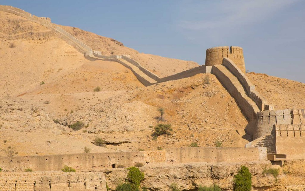 Ranikot Fort is a top tourist attraction in Sindh
