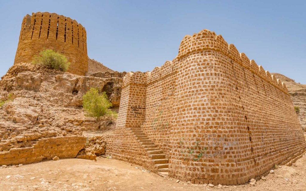 Ranikot Fort is also called the Great Wall of Sindh
