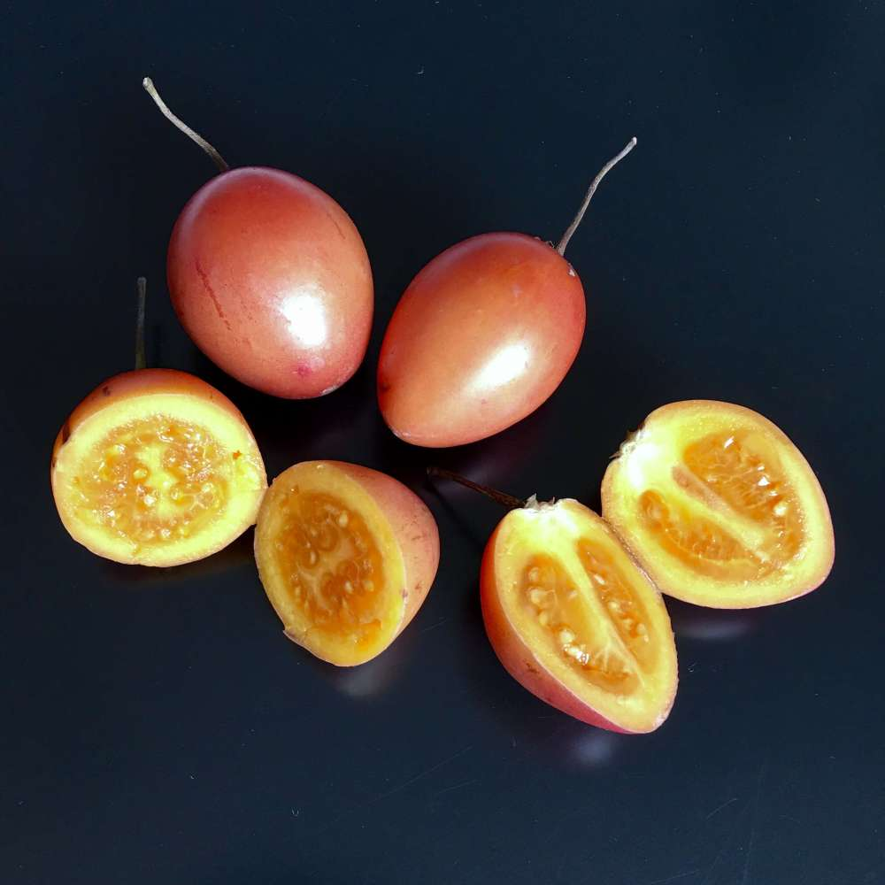 Tomate de árbol, frutas tropicales