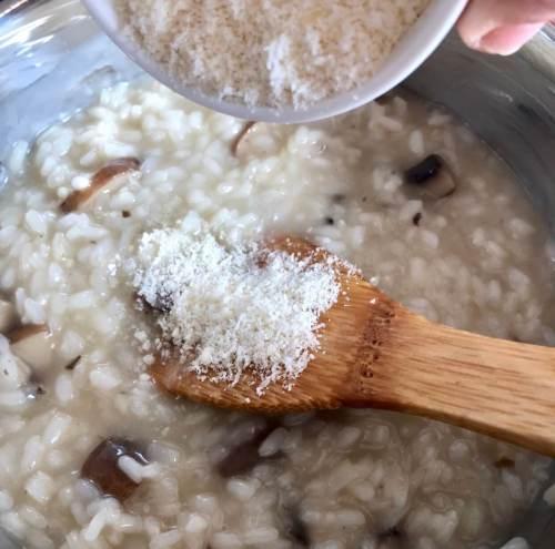 Receta de risotto