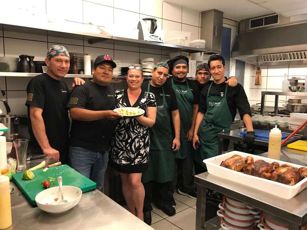 Entrevista a Jhosef Arias y conociendo su cocina