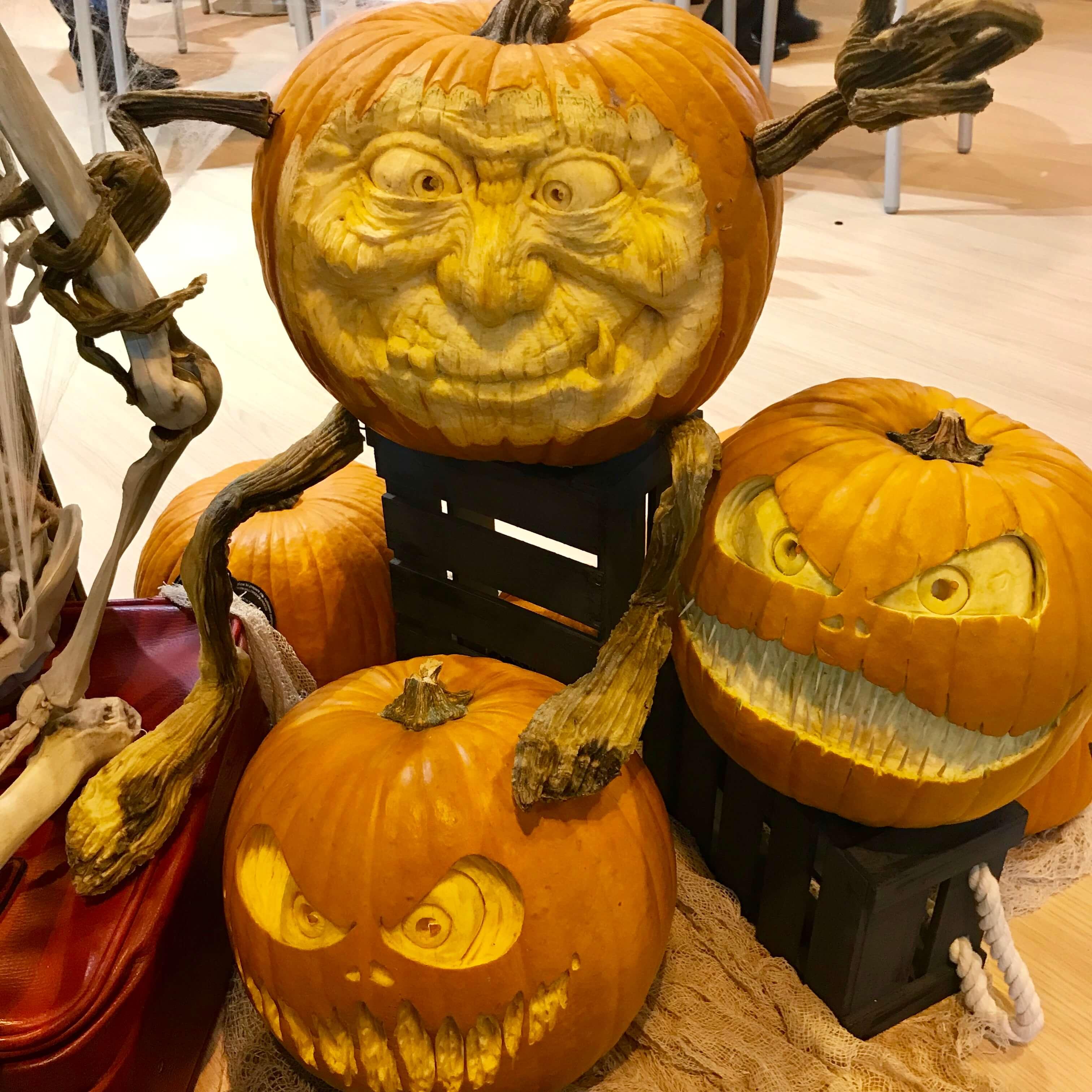 Halloween y las calabazas