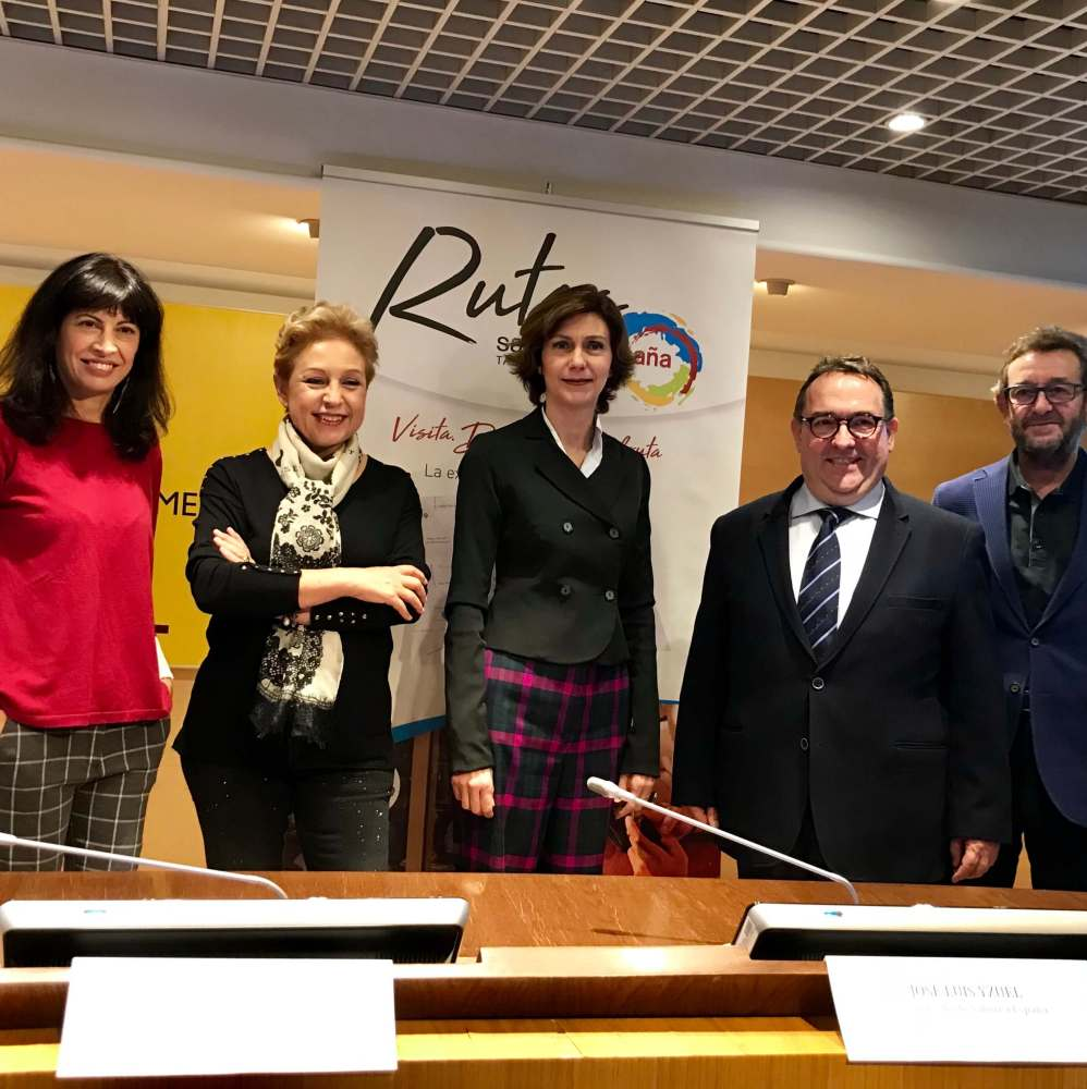 Presentación de Saborea España en Madrid.