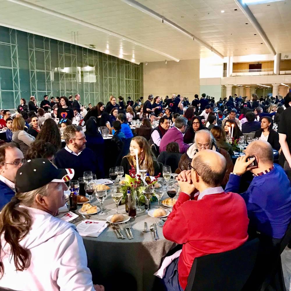 Cena solidaria Te invito a cenar.org