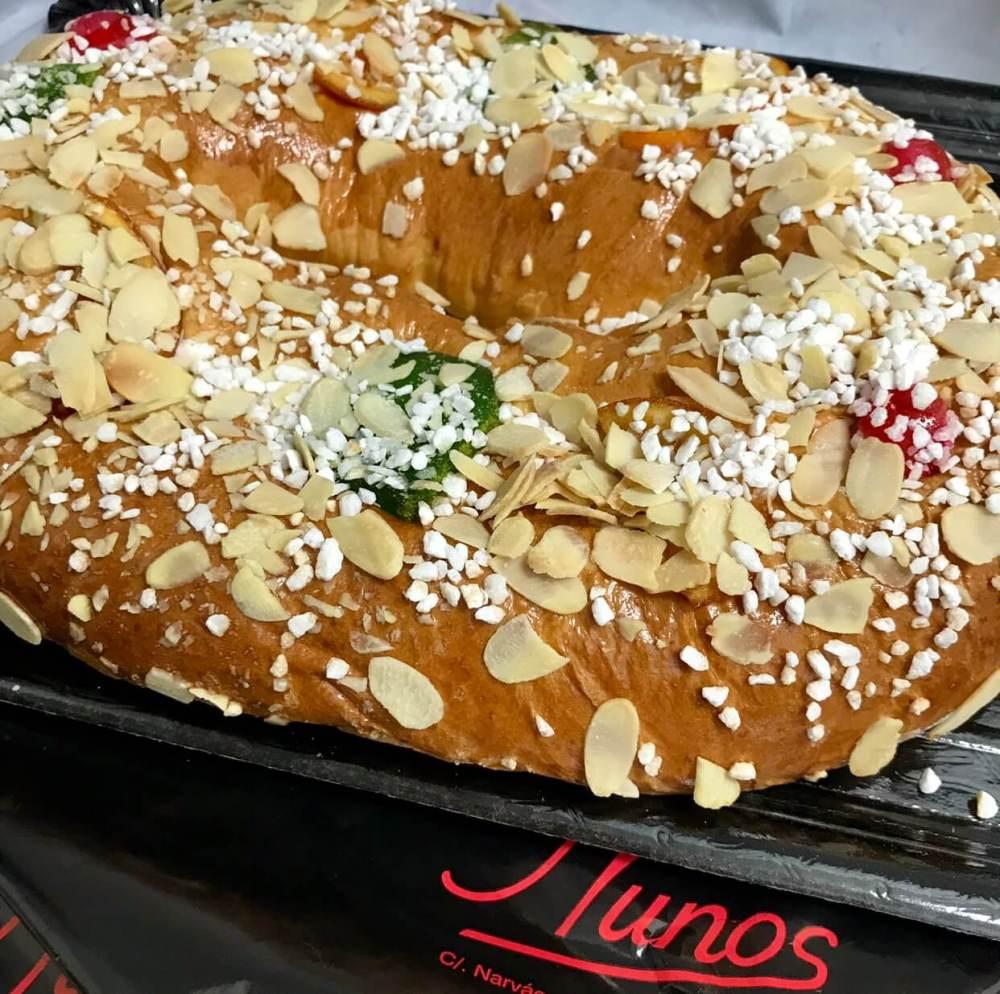 Roscones de Reyes Nunos pastelería