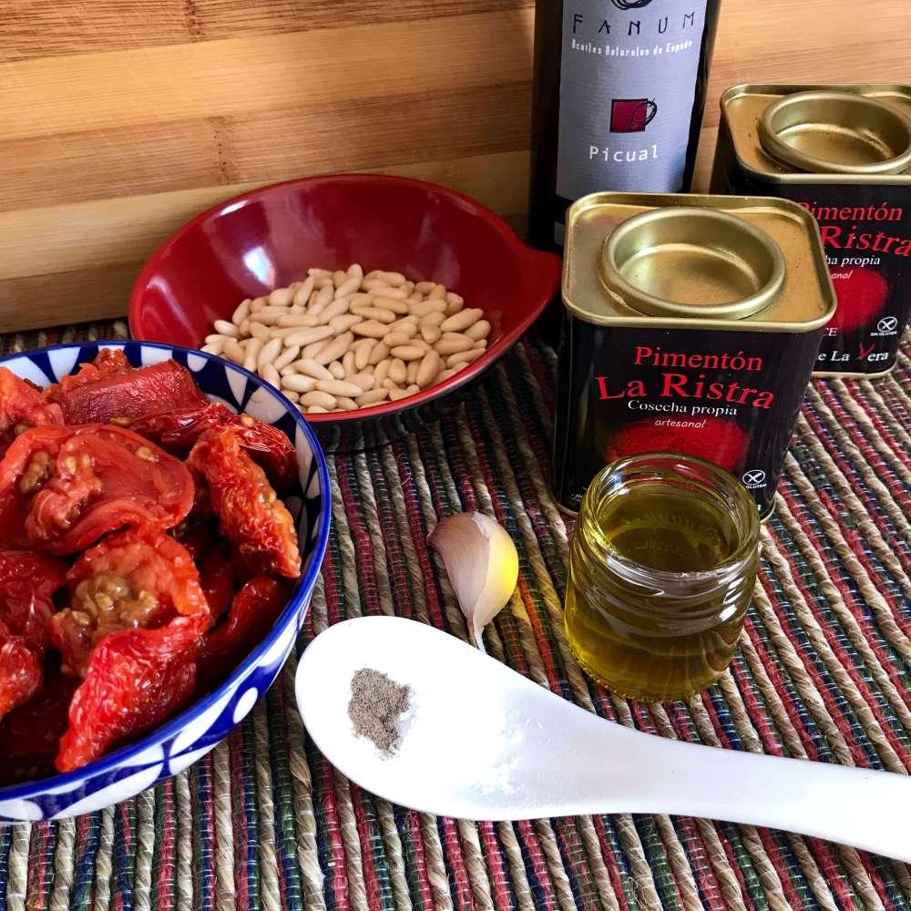 Sobrasada vegana para las recetas sanas de Julia Pijuán