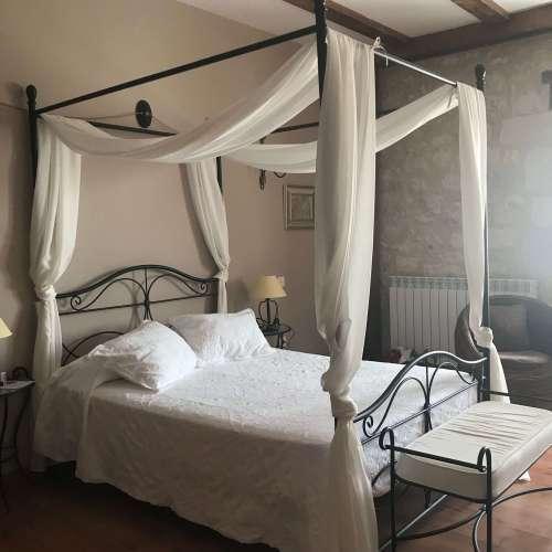 Habitaciones del Hotel Rural Las Baronas