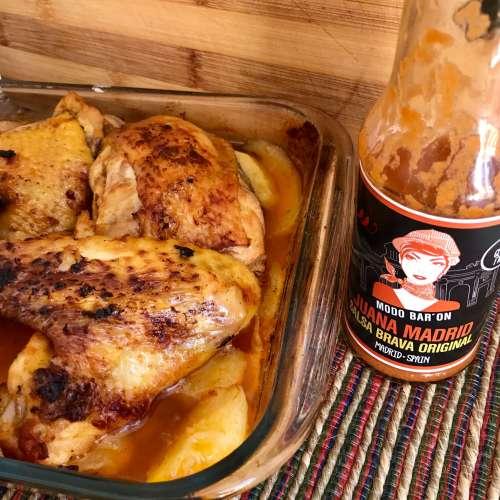 Receta de pollo picante con Juana Madrid