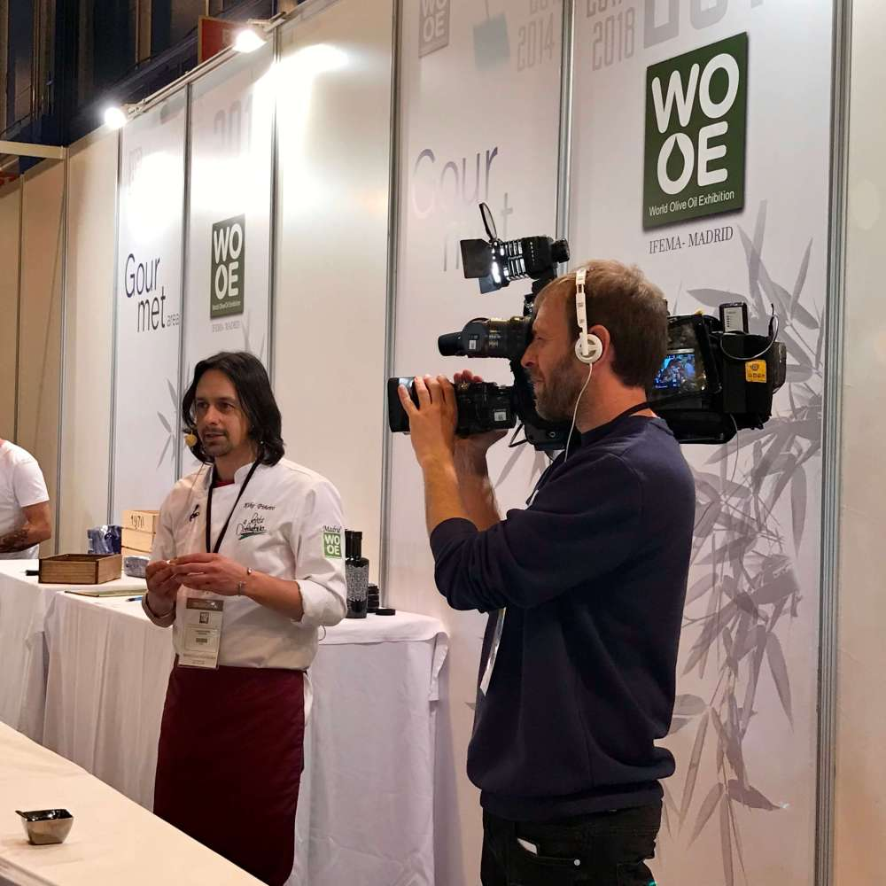 Kike Piñeiro en WOOE 2019 Madrid