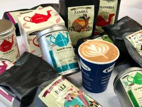 Grupo dromedario, cafés y tés