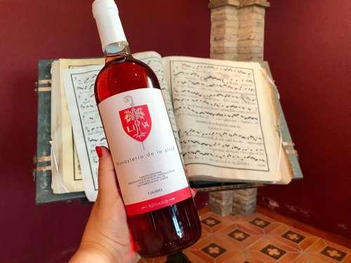 Vino rosado Monasterio de la Oliva