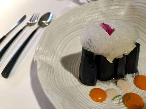 Espárragos del menú del restaurante Trigo