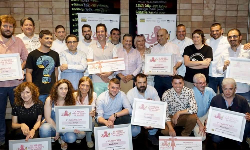 Premiados en Pulpo Pasión 2019
