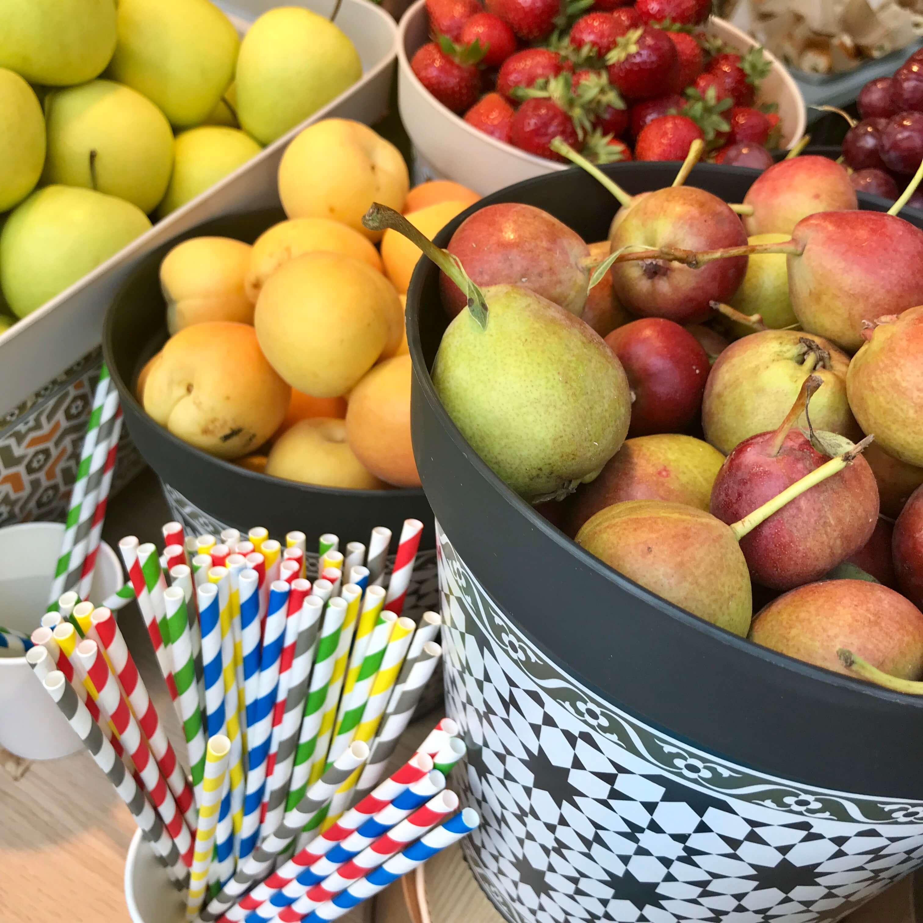 Frutas para preparar batidos