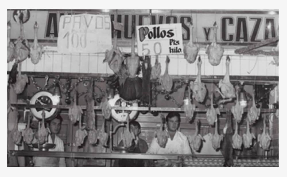 Mercado de Chamartín años 70