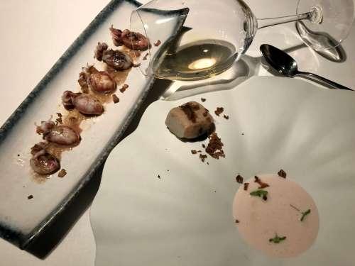 Sepia y trufa blanca en Cebo Madrid