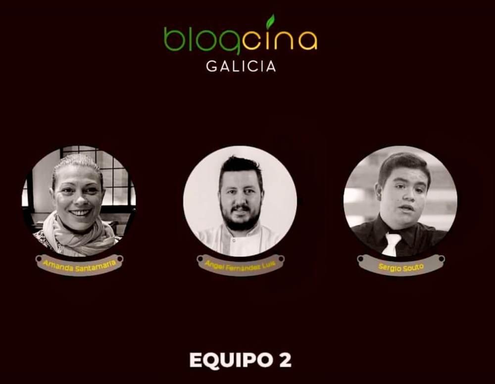 Equipo 2 de Blogcina Galicia