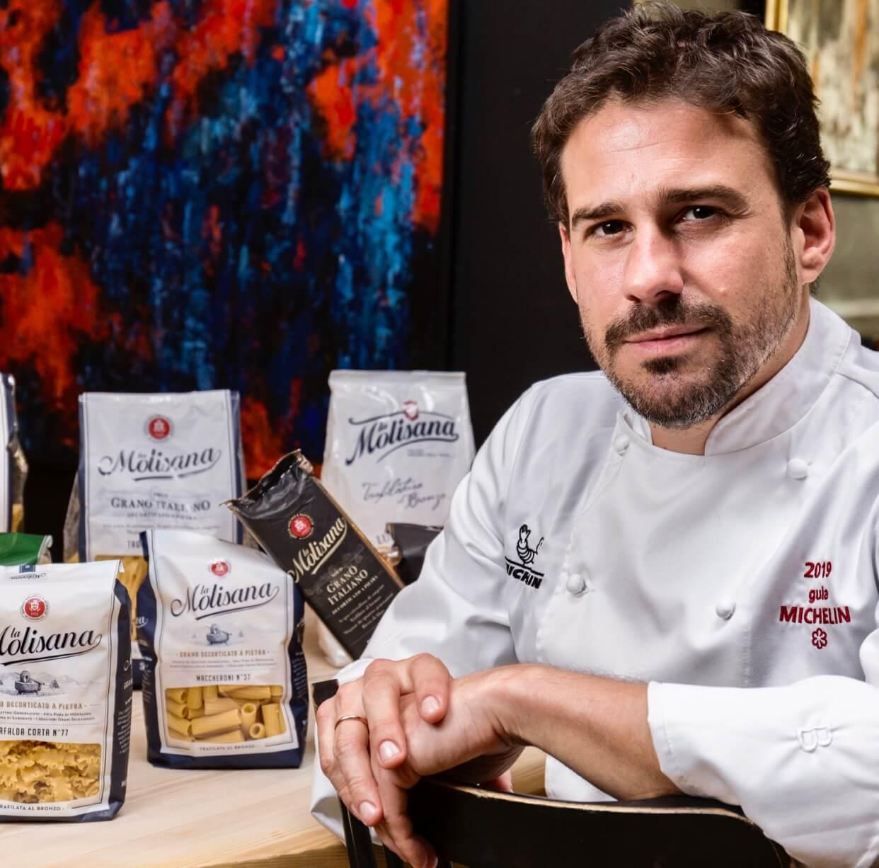 Pasta boloñesa con casquería del Chef Javi Estévez con la Molisana