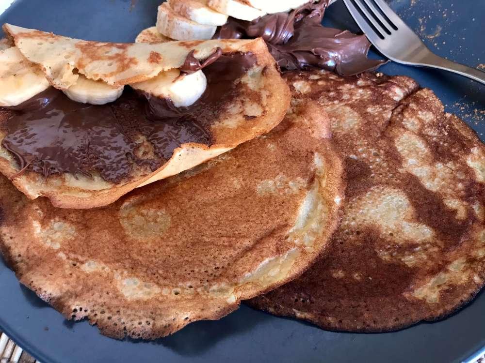 Receta de tortitas con aove arbequina