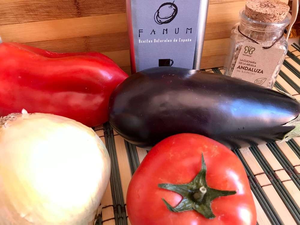 Verduras para asar con aove Fanum