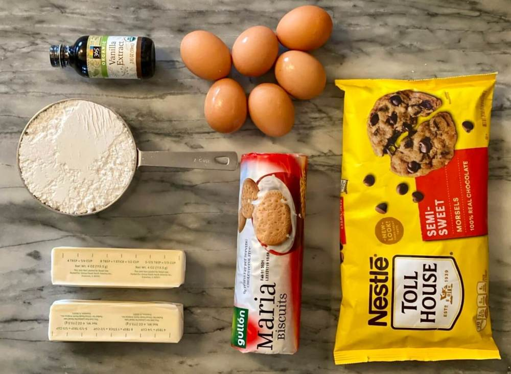 Ingredientes de repostería