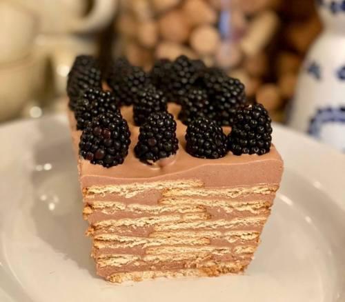 Tarta Marquesa de chocolate