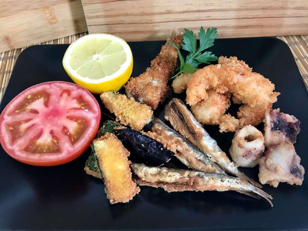 Fritura de pescado Santa Rita
