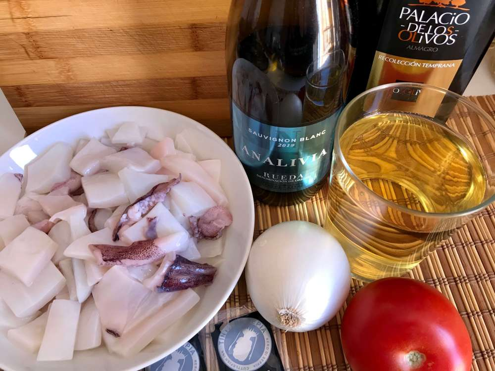 Recetas de pescado - calamares