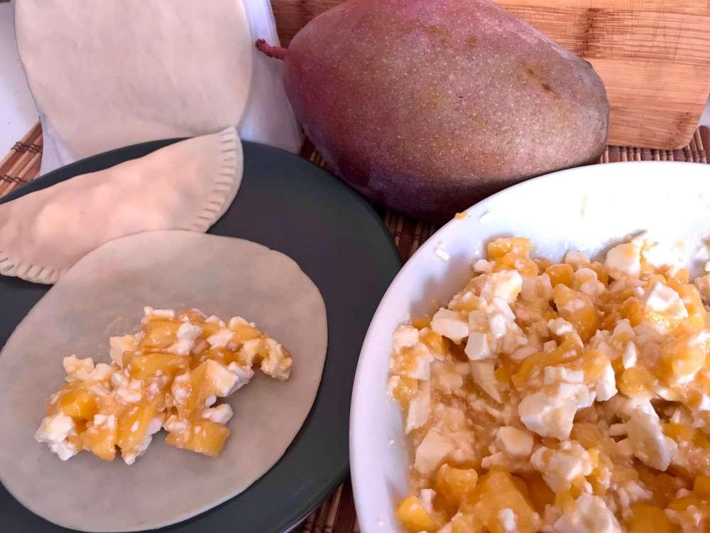 Mango y queso fresco