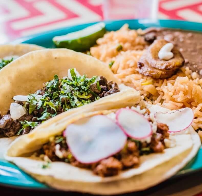 Variedades de tacos mejicanos