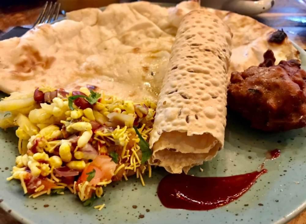 Entrantes de la cocina de Mumbai