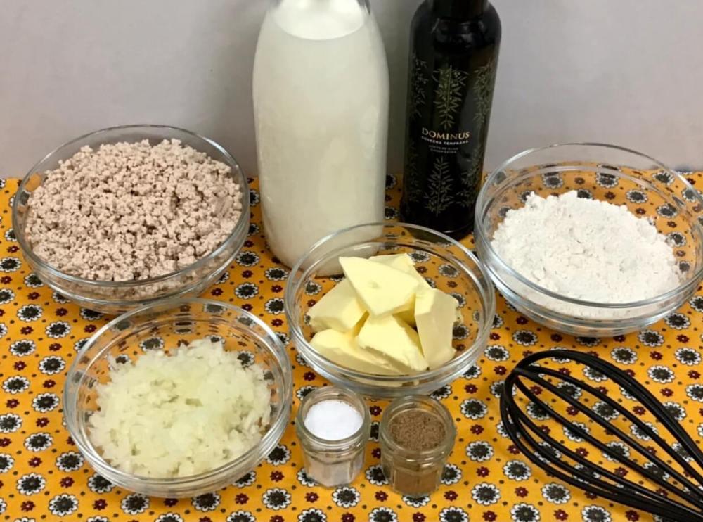 Ingredientes para hacer croquetas