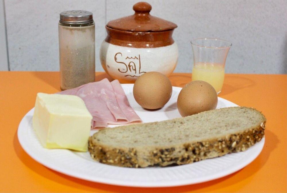 Desayuno británico, huevos Benedictine